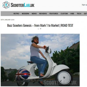 Scooter Lab UK 30th January 2019