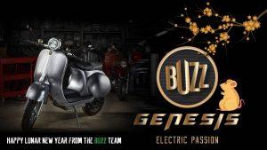 Buzz Team greeting - Happy Lunar New Year